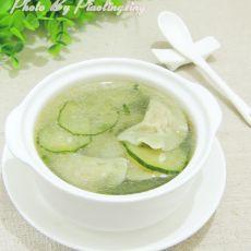 黄瓜饺子汤