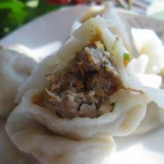 木耳豆干牛肉饺子的做法