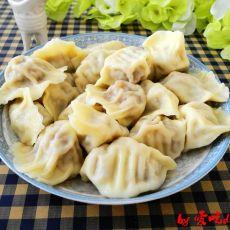酸菜牛肉水饺