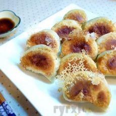 猪肉韭菜煎饺