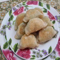 三鲜虾仁煎饺