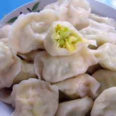 西葫芦蛋饺