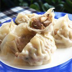杂菇猪肉饺子