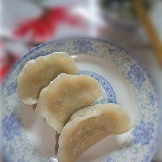 蚝油猪肉白菜饺
