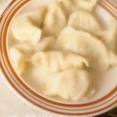 韭黄猪肉水饺