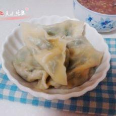 虾仁韭菜水饺的做法