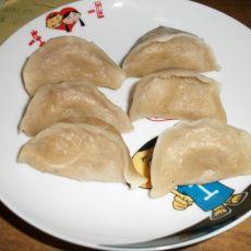 全麦面莲藕猪肉饺子