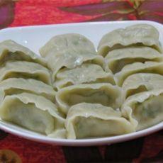 韭苔鲜虾猪肉饺