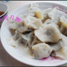 牛肉圆白菜青椒馅饺子