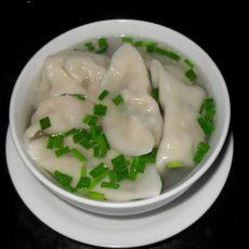 榨菜鲜肉饺子
