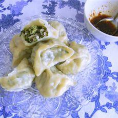 香菇小白菜蒸饺