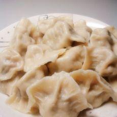 薄皮大馅--槐花猪肉饺子
