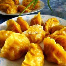 黄金三鲜灌汤蒸饺
