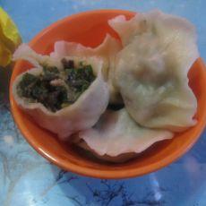 韭菜虾仁水饺