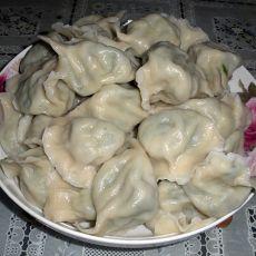 海米韭菜素水饺的做法