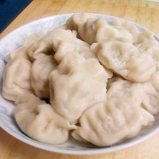 韭苔大肉饺子