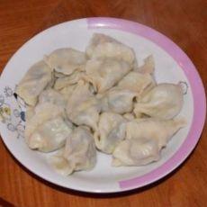 韭菜木耳虾仁鸡蛋水饺