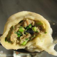 韭菜牛肉水饺