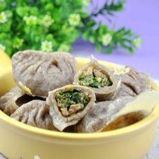 黑米野菜饺