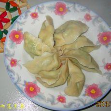 芹菜鸡蛋水饺