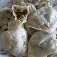 【原创菜谱】葱香牛肉蒸饺的做法