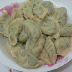 粉条韭菜鸡蛋虾皮水饺