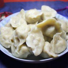 玉米面饺子的做法