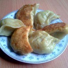 白菜虾皮生煎饺