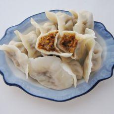 金瓜猪肉饺子