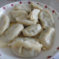 洋白菜木耳水饺的做法