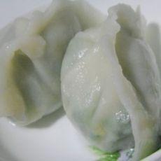 山野菜鸡蛋水饺