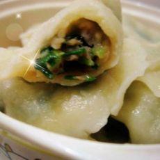 香菜肉水饺