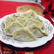 虾仁肉萝卜饺子