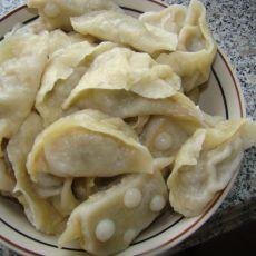 羊肉青椒汁蒸饺