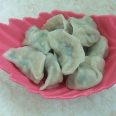 香菇韭菜饺