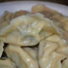 芥兰馅的饺子的做法