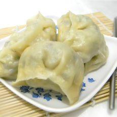 鸡蛋木耳白菜馅蒸饺