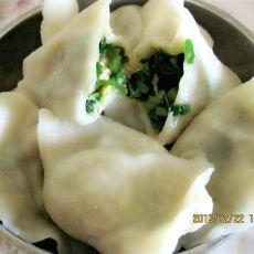 韭菜鸡蛋虾皮饺子