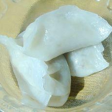 水晶皮萝卜蒸饺