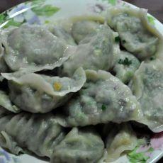 韭菜三鲜水饺