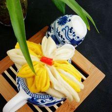 厨房可采莲――莲花馒头