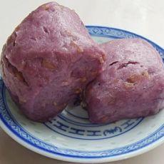 紫薯燕麦馒头