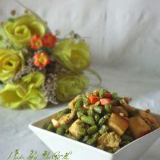 蛋香四季豆馒头粒