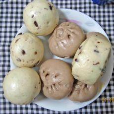 赤小豆馒头的做法