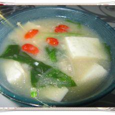 豆腐丸子汤