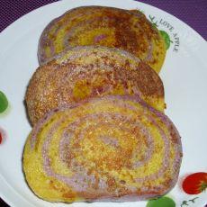 香煎紫薯南瓜馒头