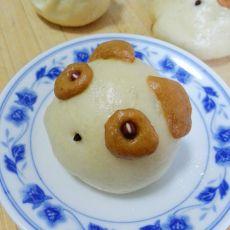 小熊猫绿豆包的做法
