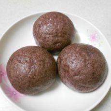 紫米馒头的做法