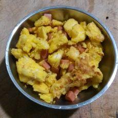 鸡蛋炒馒头的做法