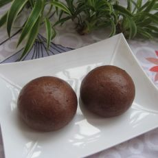 红豆馒头的做法